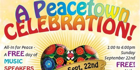 A Peacetown Celebration tickets