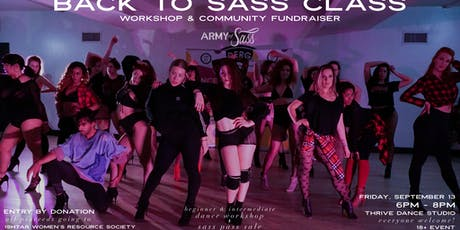 Back to Sass Class Workshop & Community Fundraiser tickets
