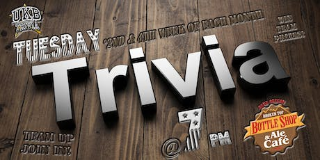 Tuesday Trivia @BTBS tickets