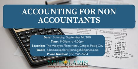 ACCOUNTING FOR NON-ACCOUNTANTS tickets