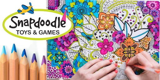 Adult Coloring Night, Snapdoodle Toys in Kenmore, Sept 19