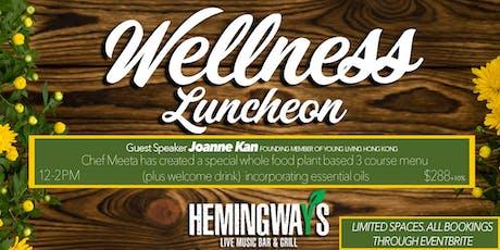 Wellness Luncheon : Joanne Kan  tickets