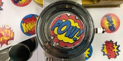 Superhero Badge Making | Menai