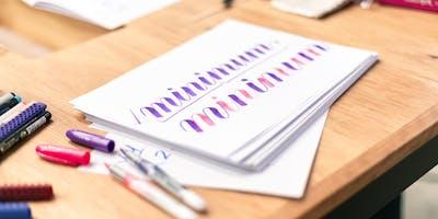 Christmas Beginner Brush Lettering #2