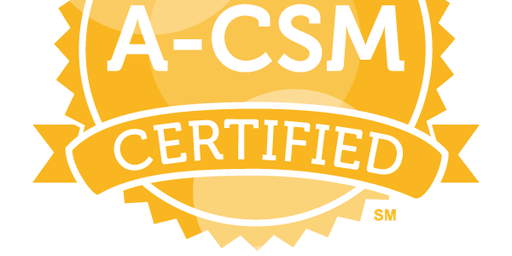 Advanced Certified ScrumMaster™ (A-CSM) Sydney, 31 October - 1 November 2019