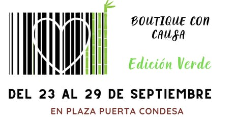 Boutique con Causa. Edición Verde. boletos