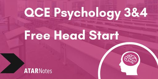 FREE QCE Psychology Units 3&4 Head Start Lecture