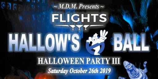 FLIGHT'S HALLOWS BALL 3 HALLOWEEN PARTY - BOTTLE SERVICE