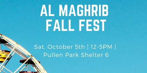 Al Maghrib Fall Fest Vendors Registration