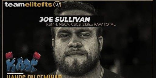 Joe Sullivan seminar in KAOS