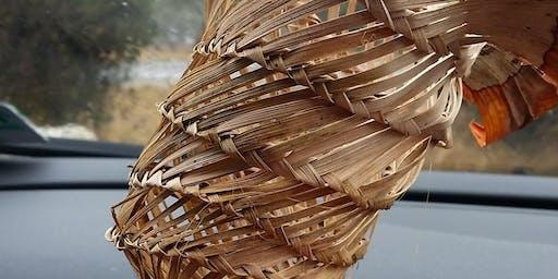 Royal Park fibresmiths - spiral plaiting