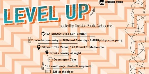 Level Up 21.09.19 | Hosted by Passion Studio