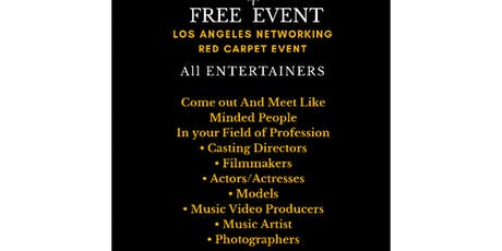 Los Angeles Networking Red Carpet Event tickets