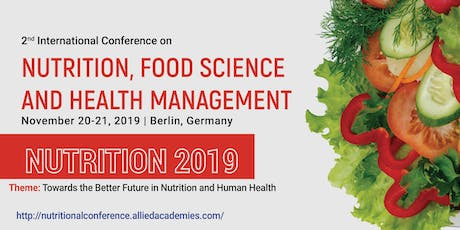 Nutrition 2019 Tickets