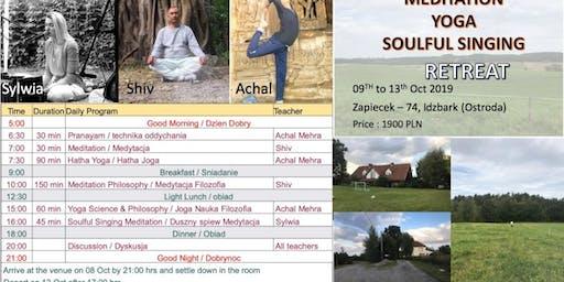 Meditation Yoga & Soulful Singing Retreat in Idzbark, Ostróda