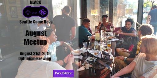 Seattle Black Game Devs Meetup (August) @ PAX