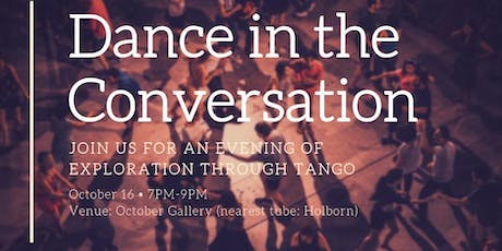 Dance in the Conversation  tickets