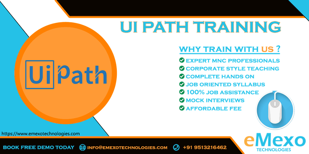 Best RPA -Uipath Training Institute in Electronic City - eMexo Technologies