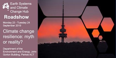 Climate change resilience: myth or reality? ESCC Hub Roadshow tickets