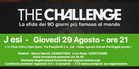 Jesi  - The Challenge Group Party - biglietti
