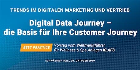 Trends im digitalen Marketing und Vertrieb: Digital Data Journey Tickets