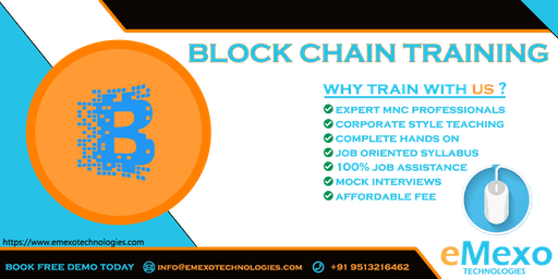 Best RPABlackchain Training Institute in Electronic City-eMexo Technologies