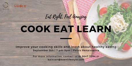 Cook Eat Learn tickets
