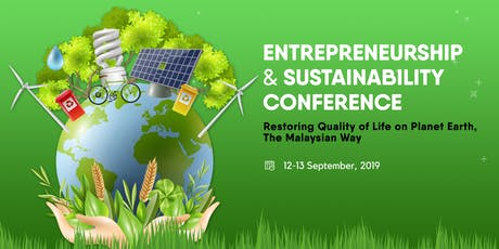 Entrepreneurship & Sustainability Conference 2019 tickets
