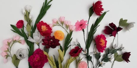 Paper Flower Making Workshop  at The Slow Fashion Show tickets