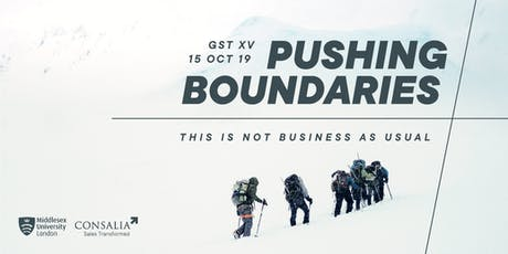 Global Sales Transformation XV: Pushing Boundaries tickets