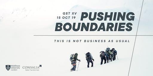 Global Sales Transformation XV: Pushing Boundaries