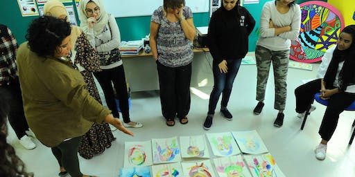 The Human Rainbow: Artist led portraiture workshop