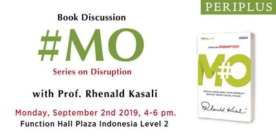 Ditunda! Book Launch With Prof. Rhenald Kasali, Ph.D