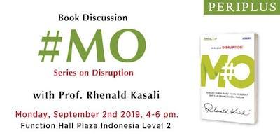Ditunda! Book Launch With Prof. Rhenald Kasali, Ph.D