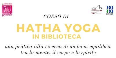 Corso di Hatha Yoga in Biblioteca