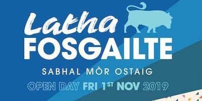 Latha Fosgailte / Open Day 2019