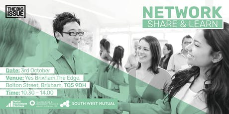 Network, Share & Learn tickets