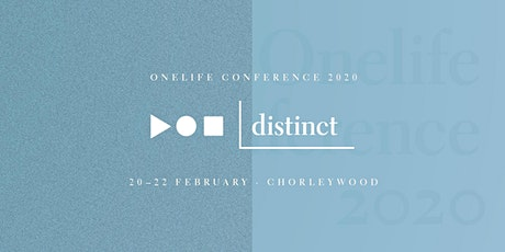 DISTINCT: Onelife Conference 2020 tickets