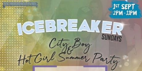 Ice Breaker Sunday City Boy & Hot Girl Summer tickets