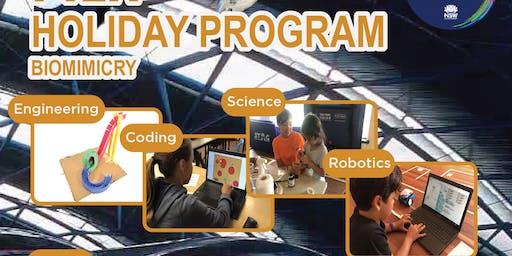 Coding, Robotics, Engineering & Science Holiday Program