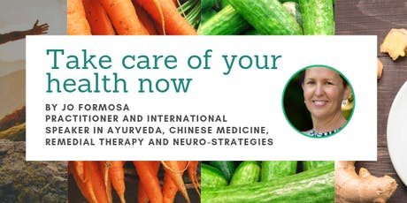 Take Charge Of Your Health Now - Free WEBINAR with Jo Formosa tickets