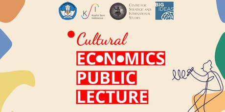 Cultural Economics Public Lecture tickets
