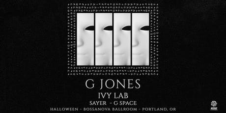 ROSE ENT.  PRESENTS Halloween With   G JONES tickets