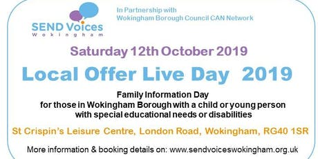 Local Offer Live 2019 - Family Information & Fun Day tickets