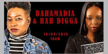 Bahamadia & Rah Digga • Berlin • Yaam tickets