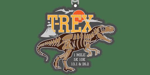 2019 Dinosaur! T-Rex 1M, 5K, 10K, 13.1, 26.2-Topeka