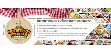 Nutritious Food Fair 2019 tickets