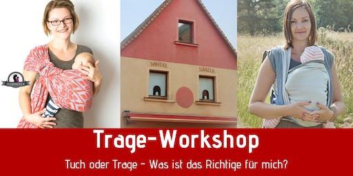 Trage-Workshop - Tuch oder Trage? Was ist das Richtige für mich?