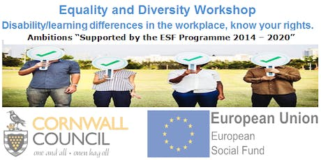 Equality and Diversity at Work tickets