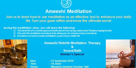 Ameeshi Rebirth Meditation Therapy tickets